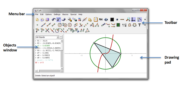 CaR Tutorial 1- Constructing an Isosceles Triangle