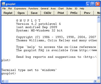 Gnuplot Tutorial 1 – Graph Basics