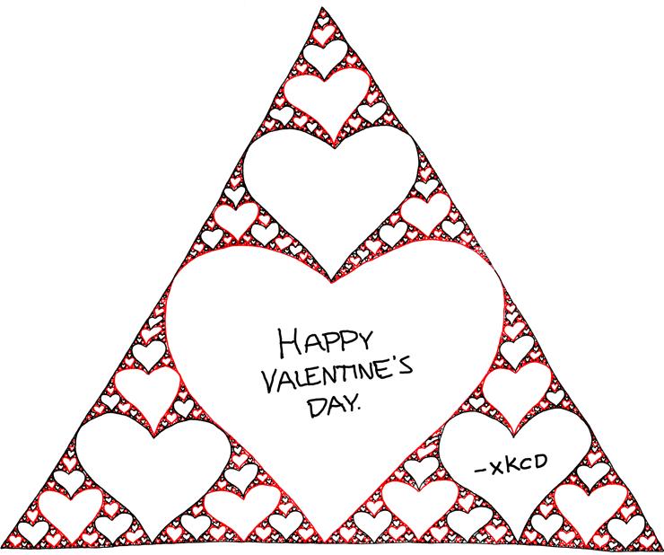 How Do Mathematicians Greet Happy Valentines?