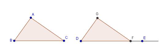 geogebra - triangle congruence