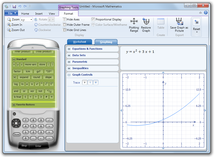 Microsoft Mathematics is now available for free