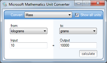 To Use The Unit Converter