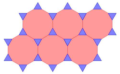 Dodecagon Triangle Tessellations