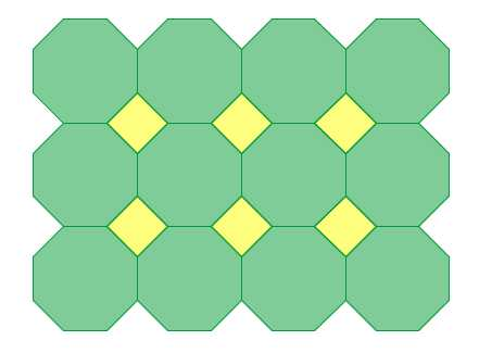 Octagon Square Tessellations