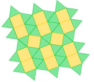 Square Triangle Tessellations