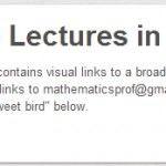 1500+ Mathematics Video Lectures