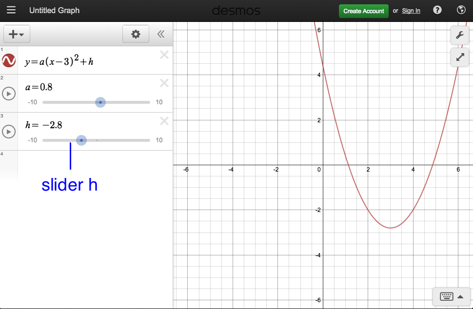 How to Create Desmos Graphs with Sliders in 3 Steps